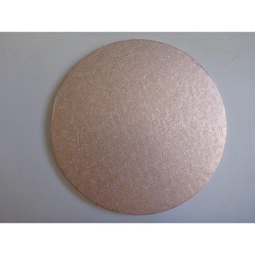 "8"" Inch Round Light Pink Cake Board"