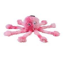 Gor Pets Dog Toy Reef Octopus Baby Crinkles Scrumples Honks & Squeaks 25cm