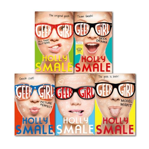 Holly Smale Geek Girl 5 Books Series Collection Set