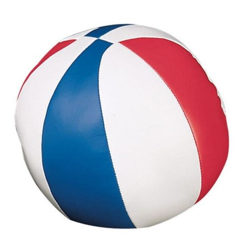 Champion Sports BS7 7 in. Soft Sport Basketball, Red & White & Royal