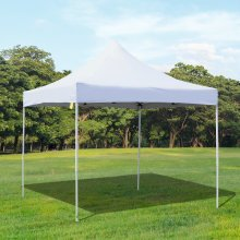 Outsunny Pop-up Tent Canopy, 3x3 m-White