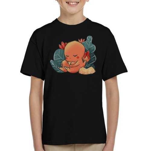 Pokemon Sleeping Charmander Kid's T-Shirt