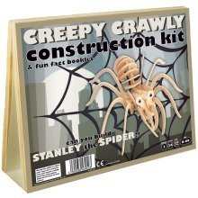 Creepy Crawly Construction Kit & Fun Fact Booklet - Stanley the Spider