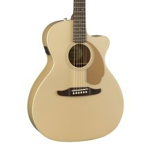 Fender Newporter Player Electro-Acoustic Guitar, Champagne