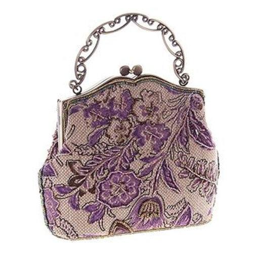 Women's Vintage Style Clutch Evening Bag Elegant  Luxurious Handbag Purse-Banquet-Cocktail Party, A