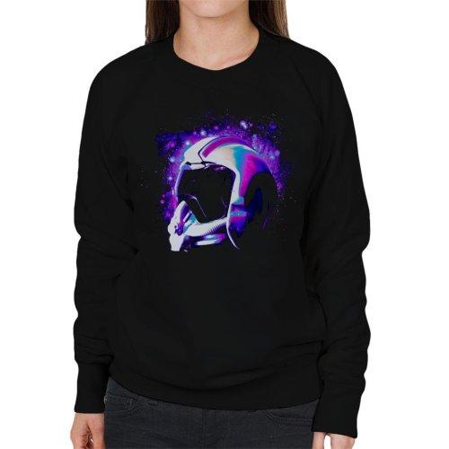 Original Stormtrooper Rebel Pilot Helmet Galaxies Women's Sweatshirt