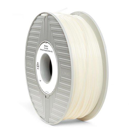 Verbatim 2.85 mm PLA Filament for Printer - Natural Transparent