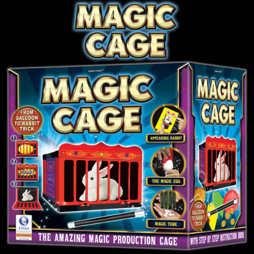 Hanky Panky Magic Cage Magic Set