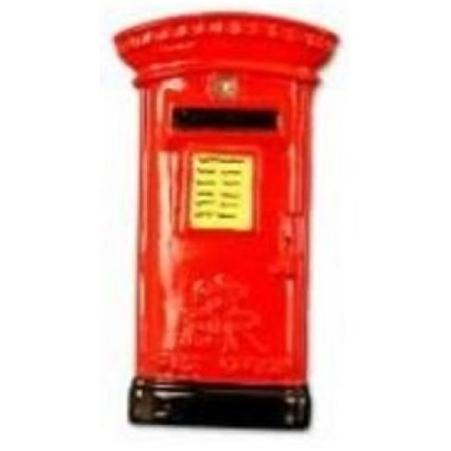 Post Box Fridge Magnet Red Traditional London English British Souvenir Gift Mail