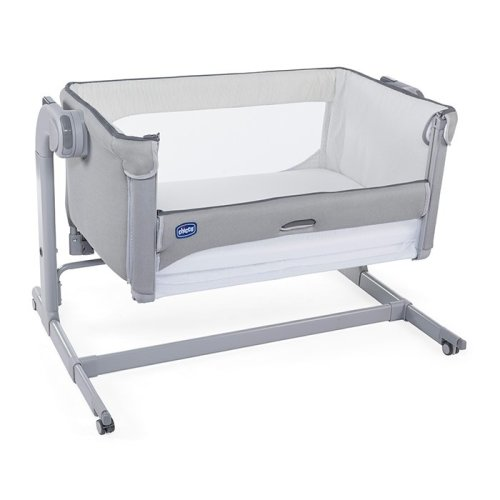 Chicco Next To Me Magic Side-Sleeping Crib - Cool Grey