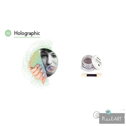Andreia Professional Holographic Nails Powder