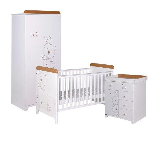 Tutti Bambini 3 Piece Bears Piece Room Set