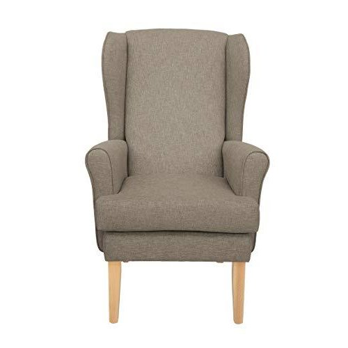 MAWCARE Highland Orthopaedic High Seat Chair - 19 x 21 Inches [Height x Width] in High Mushroom (lc21-Highland_h)