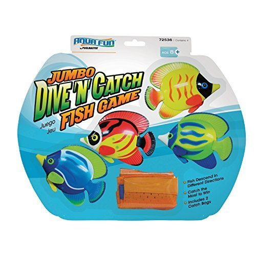 Poolmaster 72536 Jumbo Dive 'N' Catch Fish Game