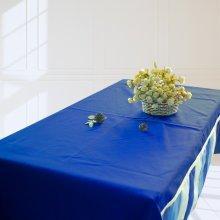 [Blue Ocean] Handmade Dinner Tablecloth Durable Canvas Table Cover, 180*130 cm