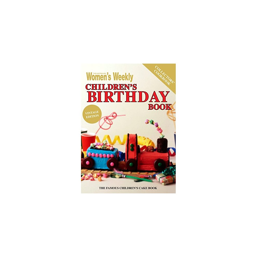 childrens birthday cake book vintage edition