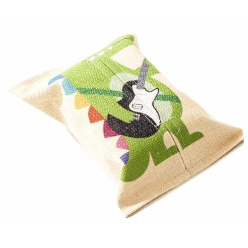 Convenient Cloth Toilet Paper Tissue Holder Storage Box Crocodile Multicolor