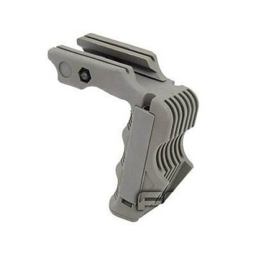 Airsoft Rail Mounted Vertical Foregrip Magwell Pressure Pad Ready Fg Green Od