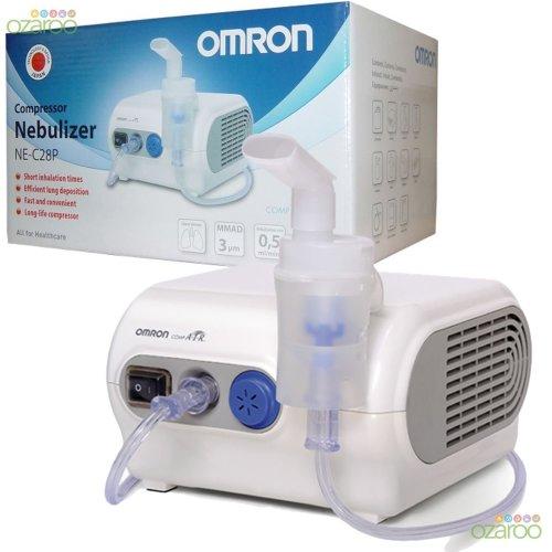 Omron NEC28P CompAIR Home Nebuliser Respiratory Air Compressor Pro Inhaler New
