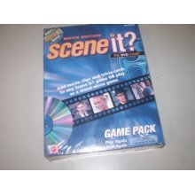 Scene It? The DVD Game - Movie Edition - in Collector's TIN w/ 3D lid!