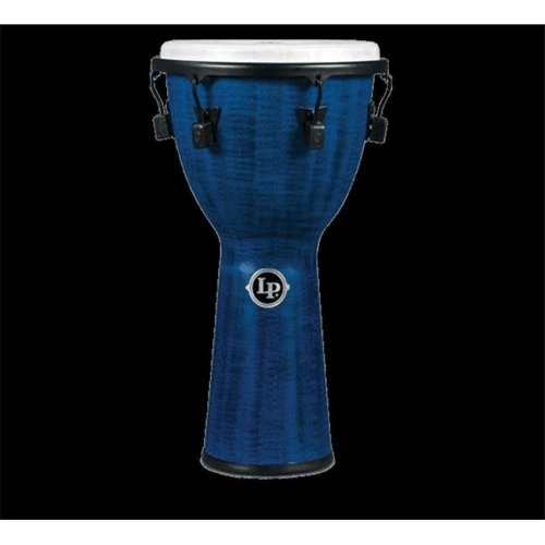 Latin Percussion LP727B Tuned Djembe 12.5 in. Synthetic Shell & Head, Blue