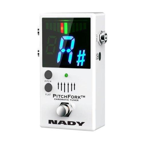 Nady PITCHFORK PitchFork Chromatic Stage Tuner White