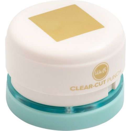 """We R Memory Keepers 1"""" Clear-Cut Punches-Square"""