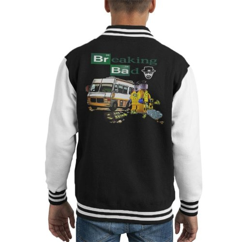 Breaking Bad Lego Kid's Varsity Jacket