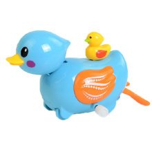 Set of 2 Lovely Animals Wind-up Toy for Baby/Toddler/kids, Duck(Color Random)