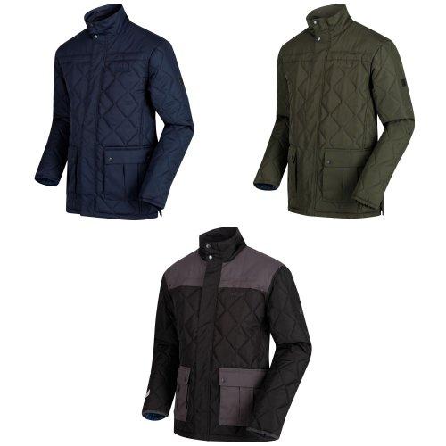 Regatta Mens Lachlan Quilted Outdoor Jacket