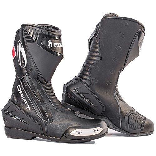 Richa Drift Black Mens Motorbike Motorcycle Boots