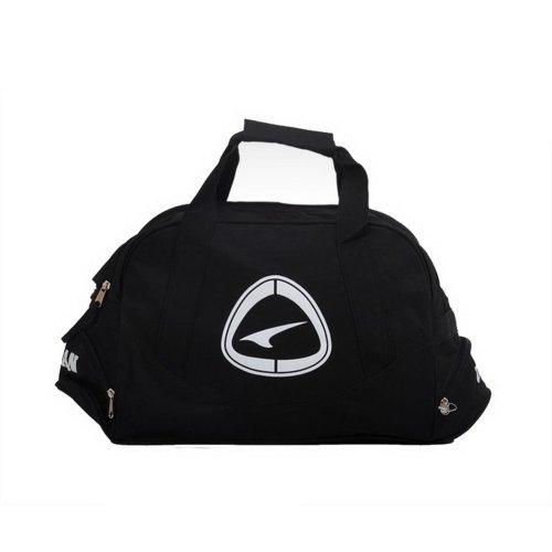 Black Duffle Bag Football Equipment Bag, 19.7''