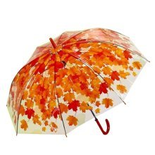Cherry Leaves Long Umbrella Thickening Creative Umbrella Personality Small Fresh