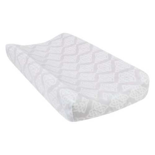 Trend-Lab 102897 Celtic Knot Plush Changing Pad Cover