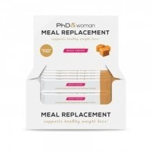 PhD - Woman - Meal Replacement - Caramle Crunch - 12 Bars
