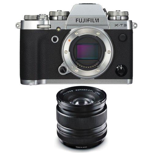 FUJI X-T3 Silver + FUJI XF 14MM F2.8 R Black