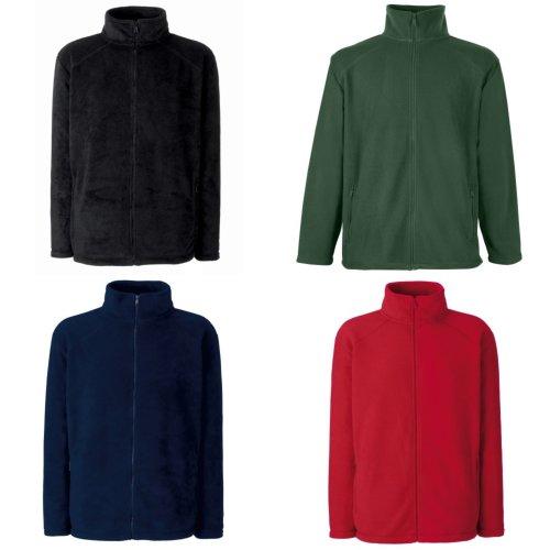 Fruit Of The Loom Childrens/Kids Unisex Full Zip Outdoor Fleece School/Casual Jacket