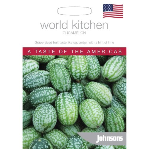 Johnsons World Kitchen Vegetable - Pictorial Pack - Cucamelon - 20 Seeds
