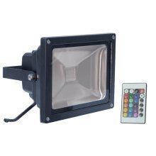 LED RGB Flood Light with Wireless Infrared Controller