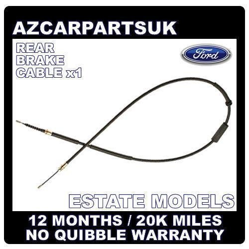 FORD MONDEO MK3 ESTATE 01-07 REAR HAND BRAKE BRAKE CABLE CABLES x1 LEFT OR RIGHT