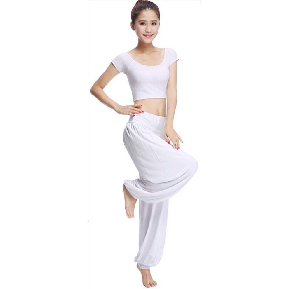 f680016a265d Best Yoga Apparel Sexy Yoga Pant Gym Clothes Dance Outfit Fitness Suit  White on OnBuy
