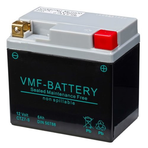 VMF Powersport AGM Battery 12 V 6 Ah FA YTZ7-S