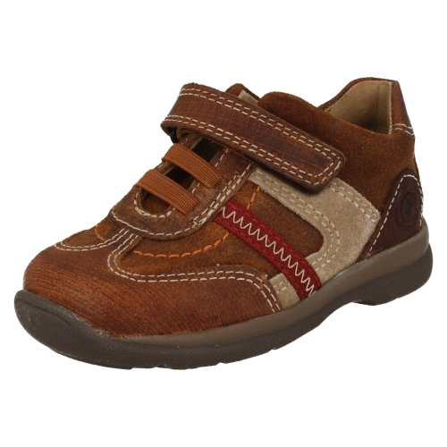 Boys Startrite Casual Shoes Lasso - Brown Leather - UK Size 4G - EU Size 20 - US Size 5