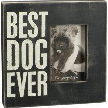 Primitives Box Frame - Best Dog Ever