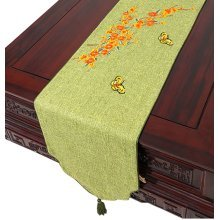 Cloth Table Runner Drape Modern Chinese Table Cloth Linen Coffee Table