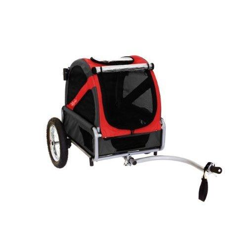 DoggyRide Mini Dog Bike Trailer Rebel RedBlack