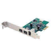 StarTech 3 Port 2b 1a PCI Express 1394 FireWire Card
