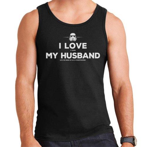 Original Stormtrooper Husband Lets Me Dress Up Men's Vest