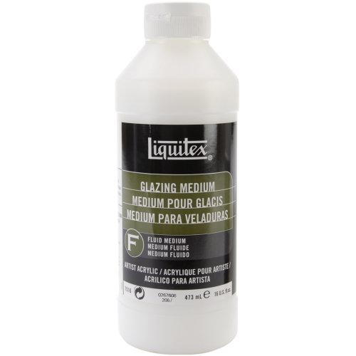 Liquitex Glazing Acrylic Fluid Medium-16oz