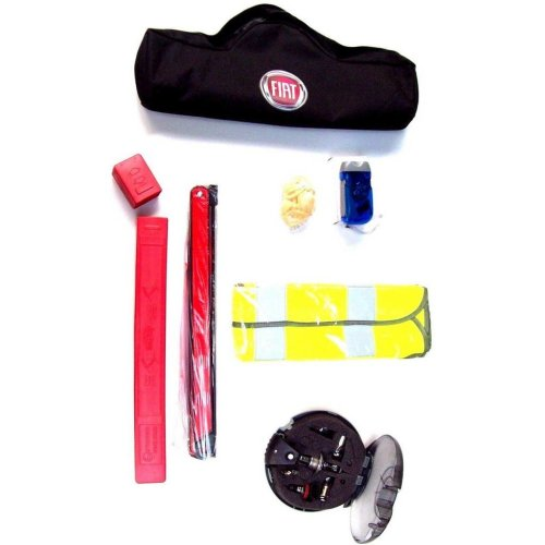 Fiat Genuine New Emergency Kit Bulb Kit Torch Triangle Hi Vis 71807883